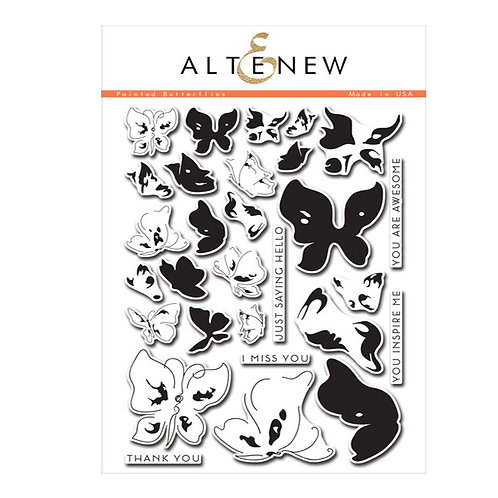 Altenew Painted Butterflies Stamp/Die Set