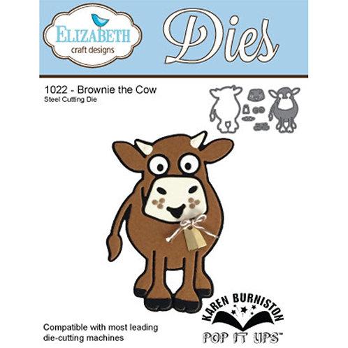 ECD Brownie the Cow  1022