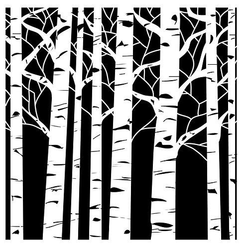 TCW 12X12 Aspen Trees