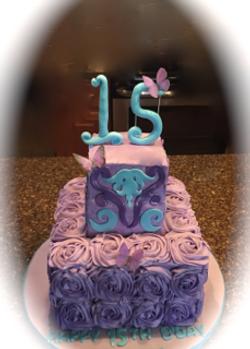 15 Birthday Rosettes