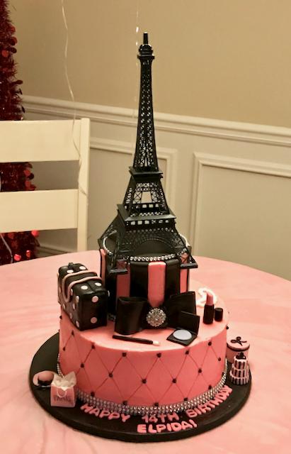 #pariscake #eiffeltowercake