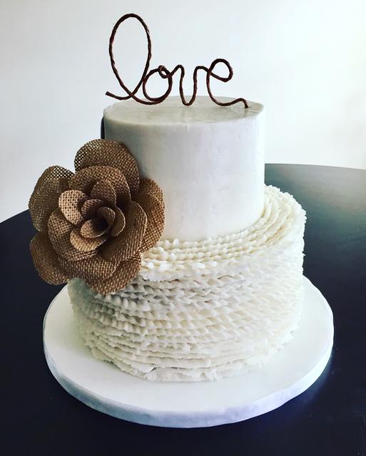 #lovecake #rufflescake