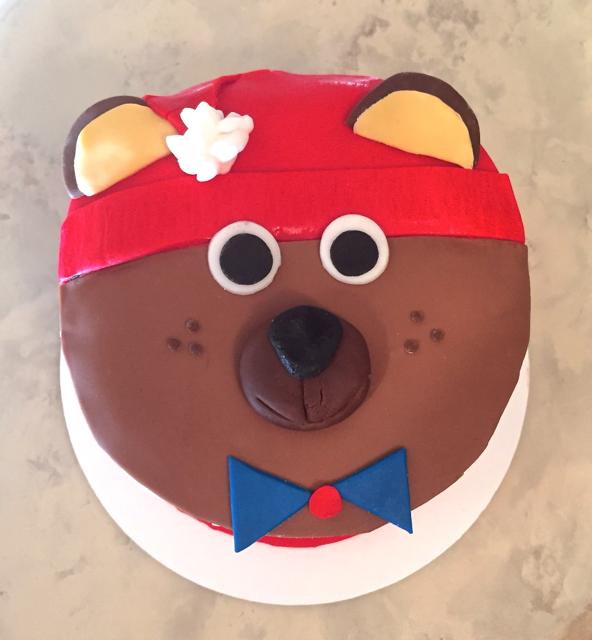 #teddybearcake