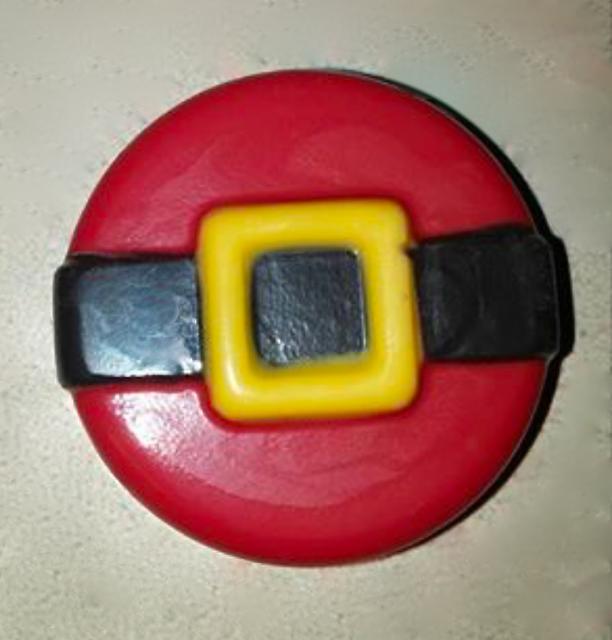 #santasbeltcupcake