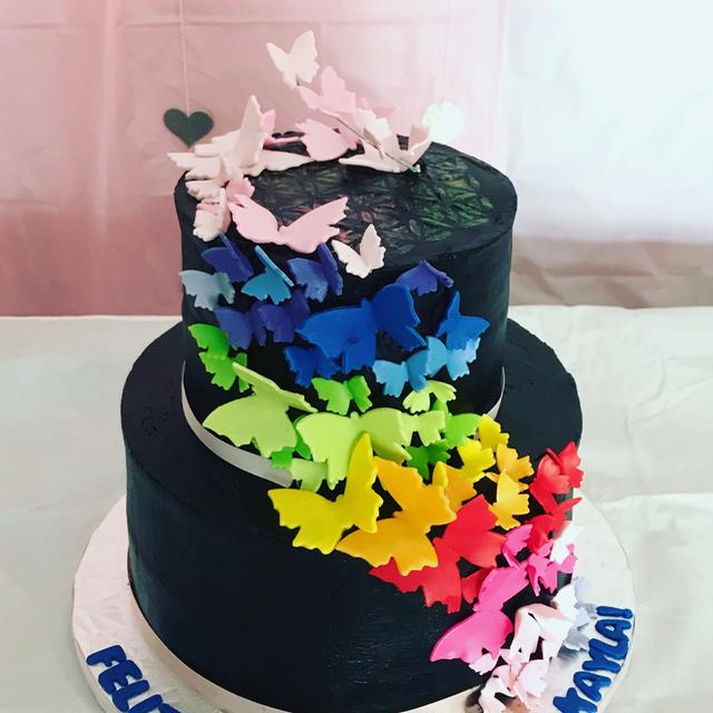 #butterflycake #Quinceañera