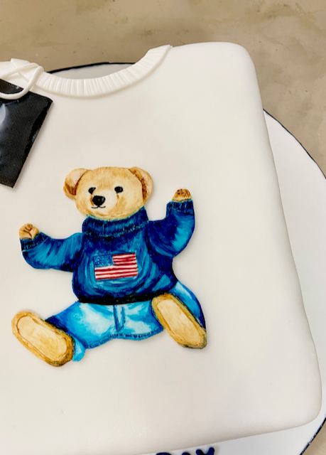 Hand Painted Teddy