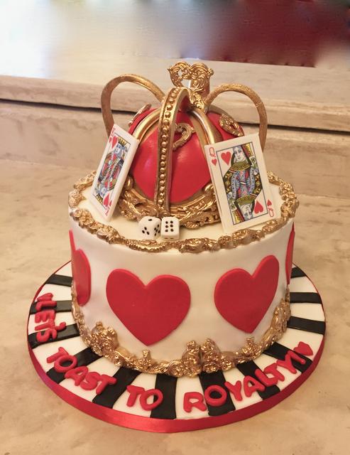 royalty cake