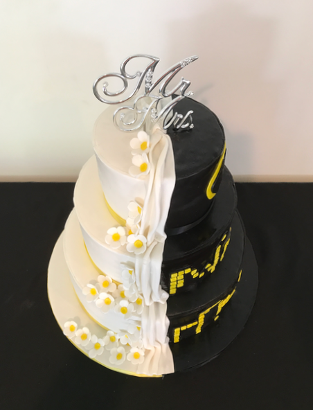#splitcake #splitweddingcake Wedding