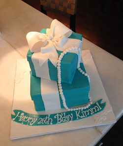 Carved Gift Boxes cake