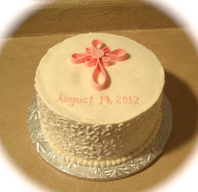 Chrisening cake 2
