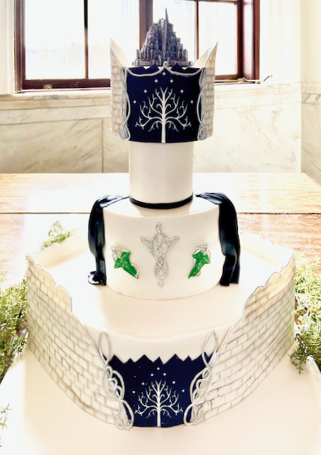 Fondant Covered Theme Cake