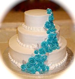 Wedding Cake Pool Blue Roses.png