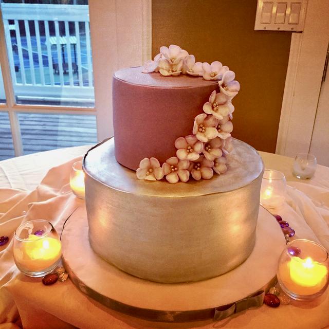 #silverelegancecake