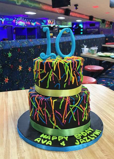 #splattercake #10thbirthdaycake