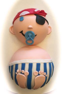 Baby Shower Pirate
