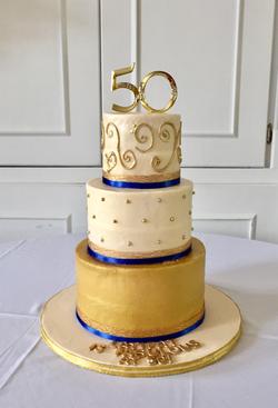 #50thbirthdaycake