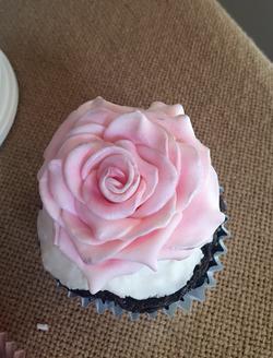 #rosecupcake