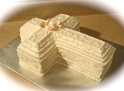 Christening Cake w Baby