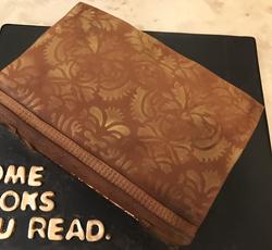 Single Book Cake