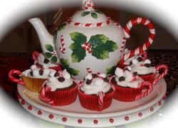 #teapotcake #christmasteapotcake