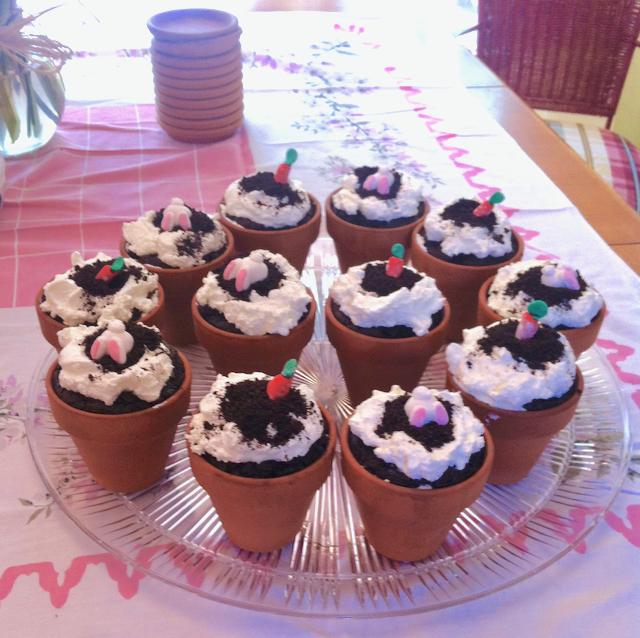 #bunnycupcakes #eastercupcakes