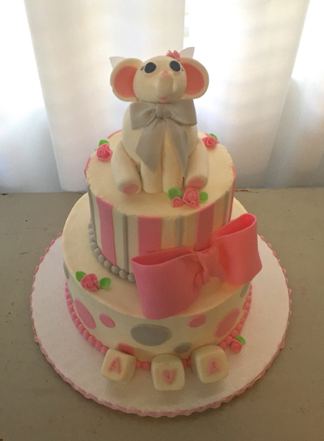 Elephant w Wings Baby Shower