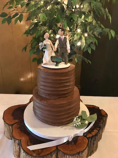 #chocolateweddingcake
