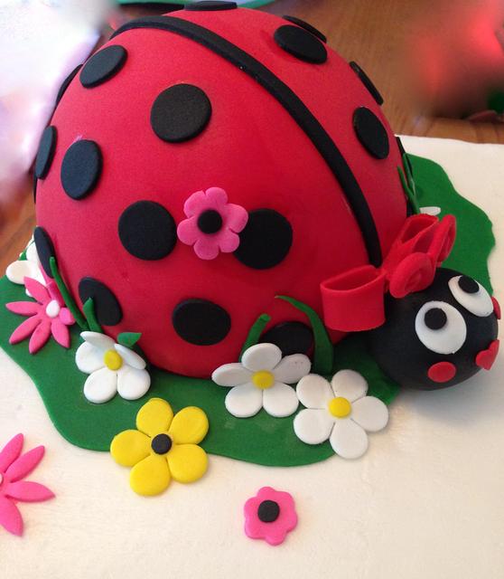 #ladybugcake #ladybug