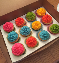 Cupcakes for Beachball Party