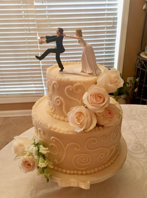 #Buttercreamweddingcake