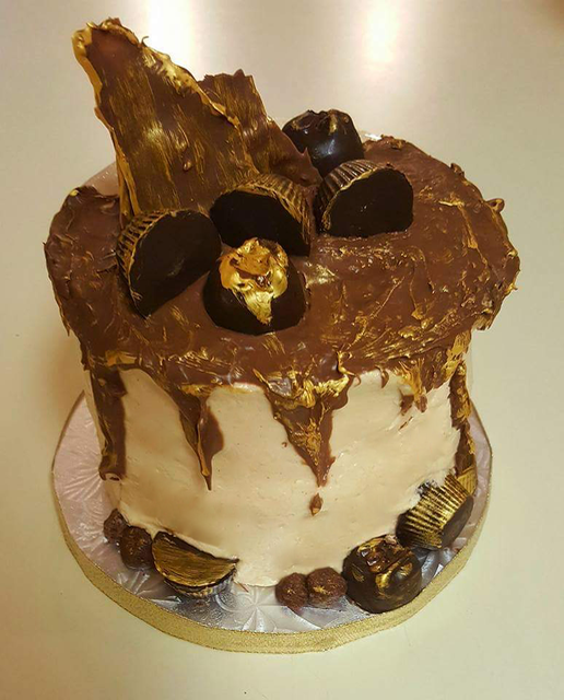 #peanutbuttercakewithchocolate
