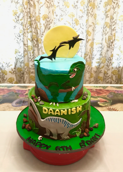 #dinosaurcake