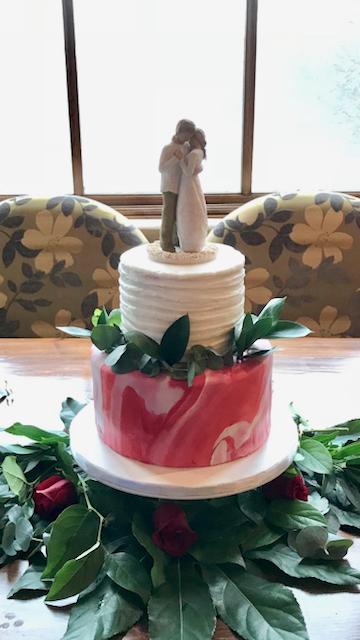 #marbledweddingcake
