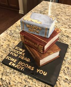 #oldbookscake #stackbookscake