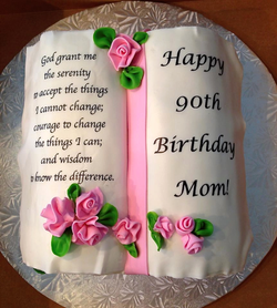 Carved Bible Cake