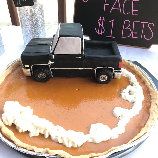 Drivin' around on a Pie