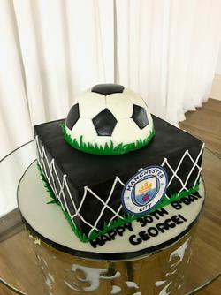 #soccerballcake