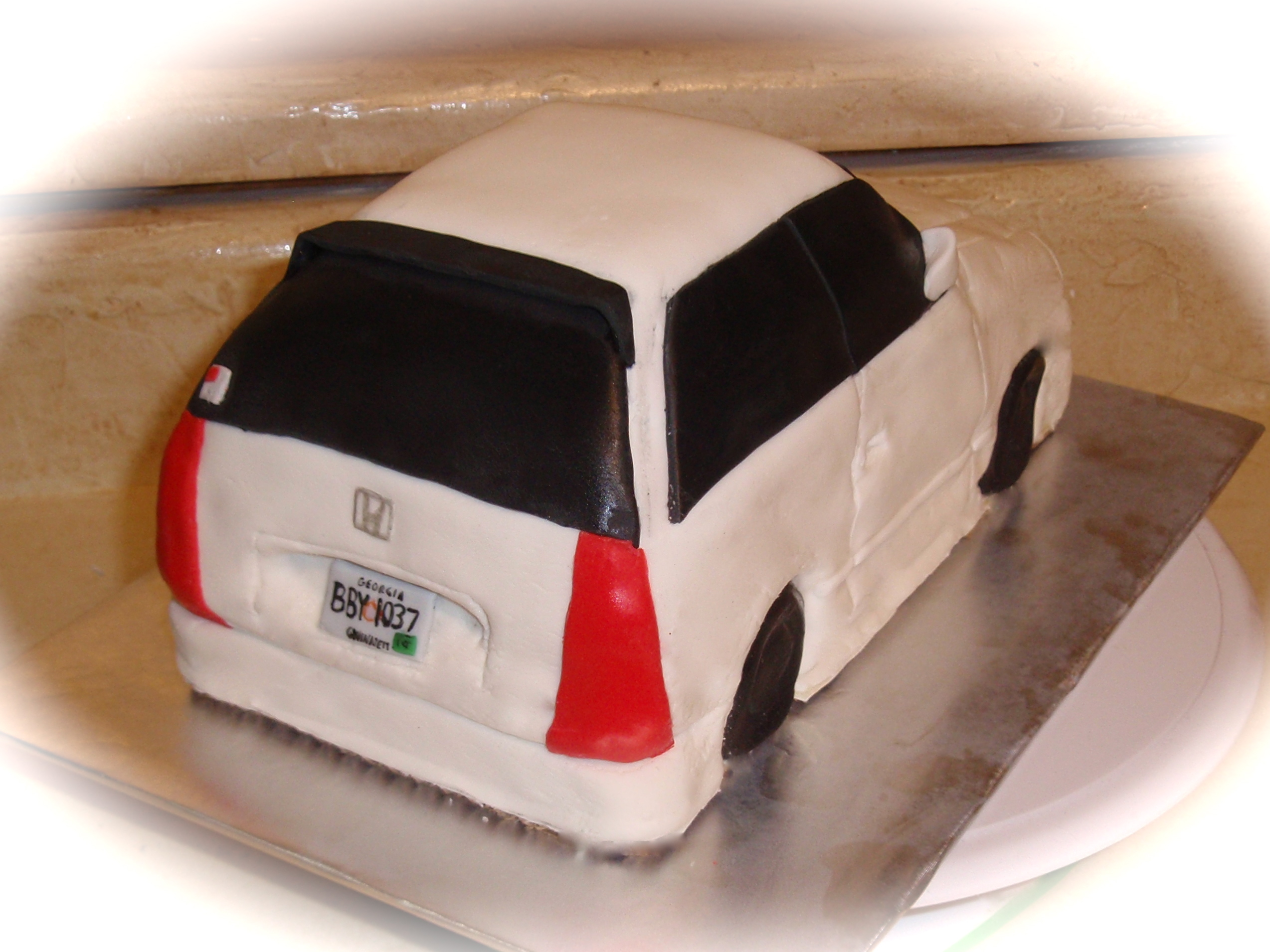 Carved Cake Car