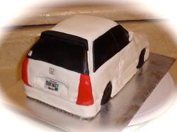 Carved Cake Car