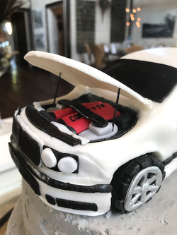 Car Cake, Hood Up