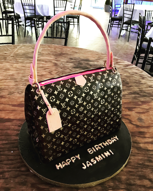 Carved Purse Cake