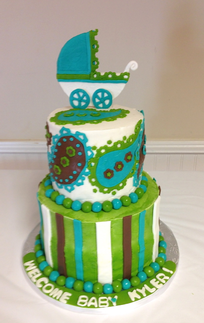 Baby shower 2 tier green with paisley.png