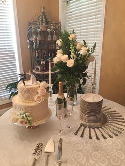 #WeddingTablescape
