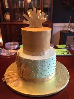 Wedding Cake Gold Wafer Paper.png