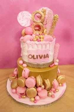 candy cake, Birthday Cake
