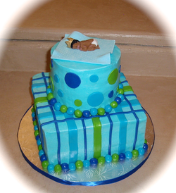 Baby shower 2 teir blue with baby on top.png