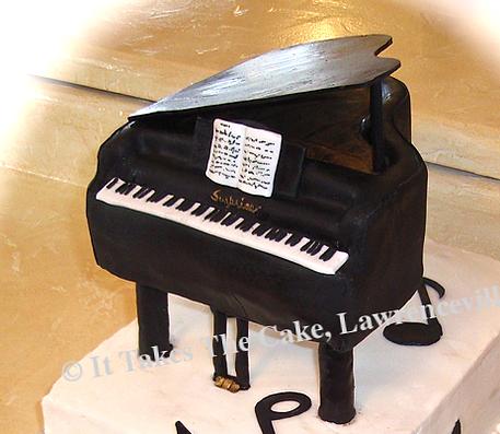 #pianocake