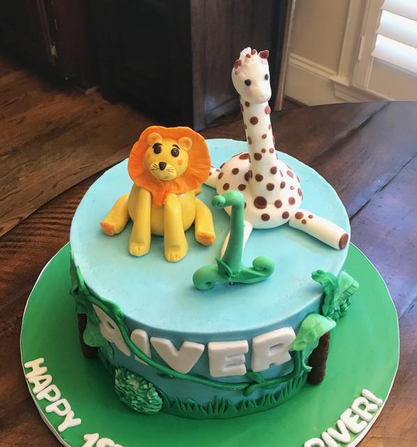 #safaricake #junglecake