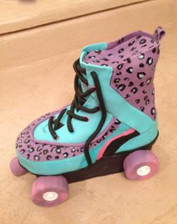 Carved Cake Roller Skate