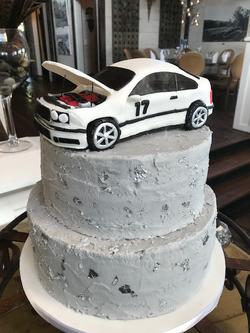 Carved Car Cake